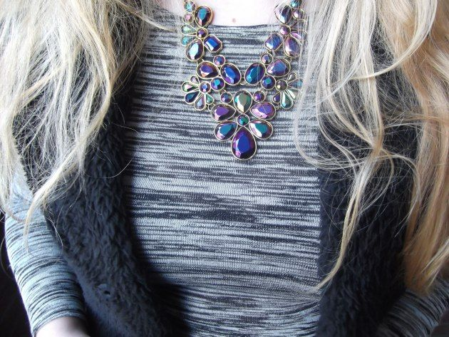 SACHA Statement Necklace by blogger Mysupersweetlife