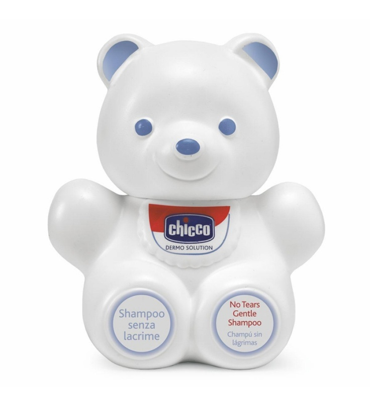 "Chicco No Tears Gentle Shampoo 300 Ml ""Bear Shaped"":-Chicco No Tears Gentle Shampoo Pure, simple, safe. It respects the delicate skin of baby?s scalp"