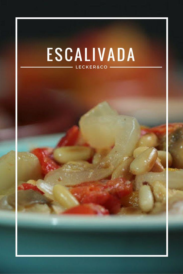Spanische Tapas: Escalivada - mariniertes Gemüse