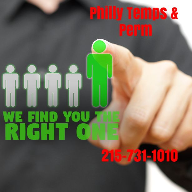 Philly Temps & Perm has top notch expertise that exceeds the human resources in most small businesses. We are more in tune with the employee trends, law changes, and recruitment practices for the local area. Save money in the job hiring process by letting Philly Temps & Perm get it right the first time.