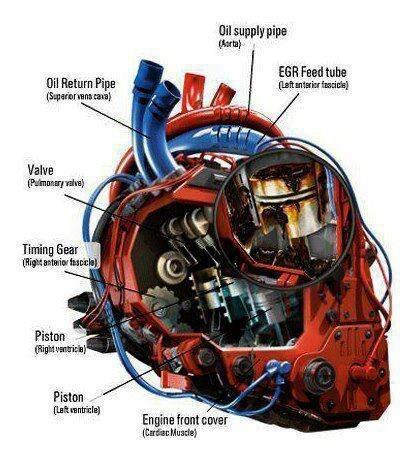 Gear Head Heart @pinvolve