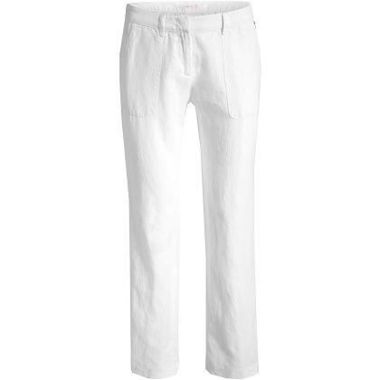Ce pantalon classique blanc ni trop large, ni trop moulant est idéal pour mettre votre silhouette en valeur. Dès 59,99€. Venez faire un tour ici: http://stylefru.it/s284804 #pantalon #blanc #morphologies #ronde