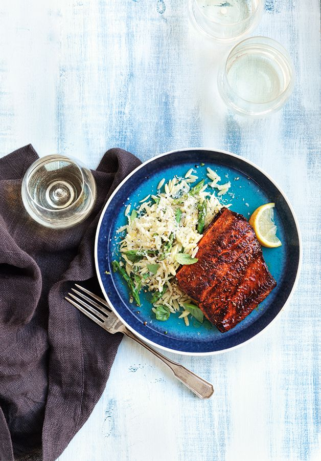 Arctic char looks much like salmon, yet it boasts a milder, more delicate flavour; it's also a more sustainable choice. If you can't find it in stores, you can substitute with rainbow trout. Arctic char fillets can be quite large, so cut them into smaller portions, if needed, before coating them in the spice mix.
