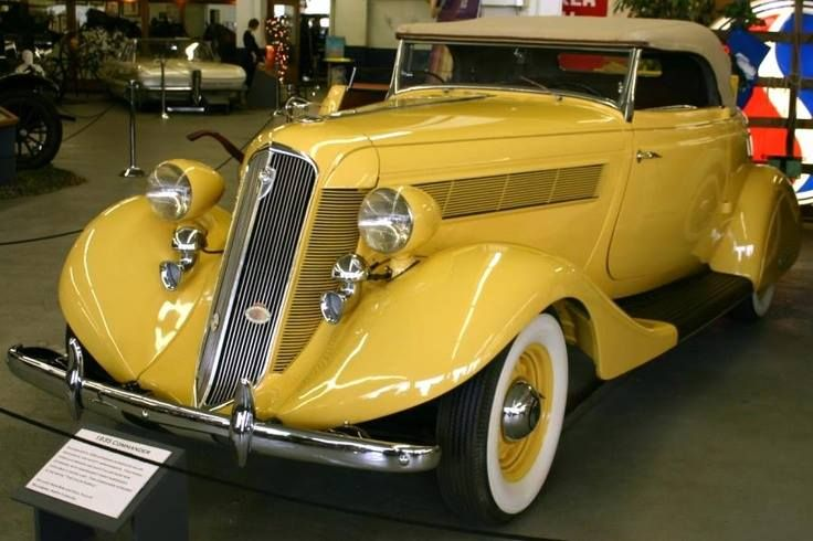 1935 Studebaker Commander Roadster Ancient Cars 1900