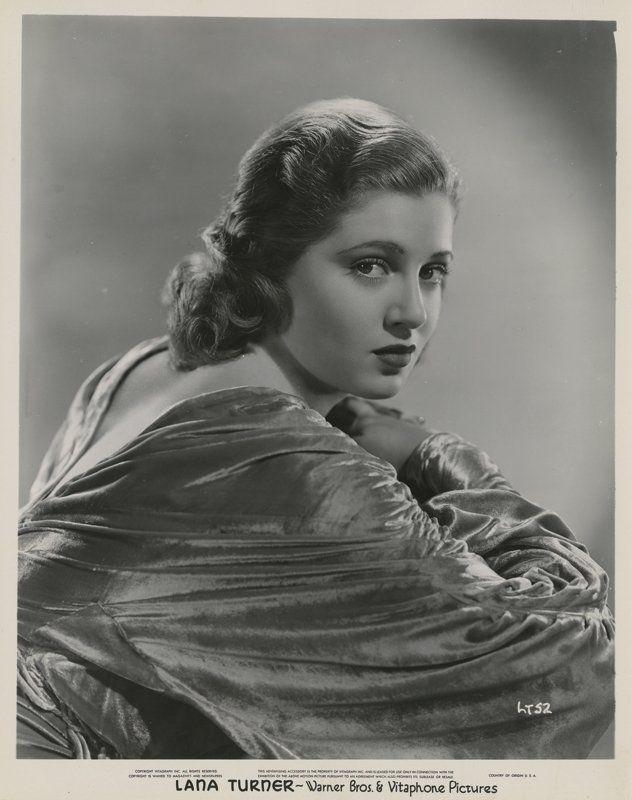 Lana Turner (3) Vintage φωτογραφίες. : Lot 152