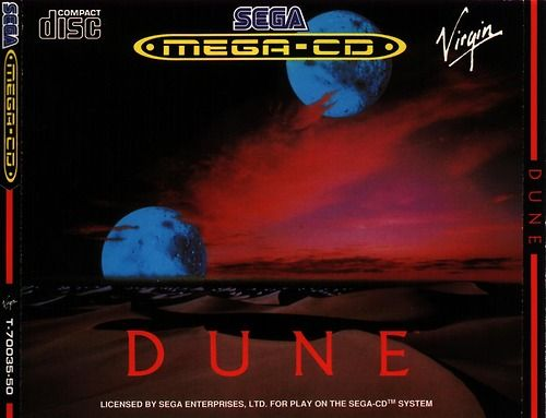 #Dune Sega Mega CD. One of the best game I have ever played. I was still young. #Cryo #Lynch