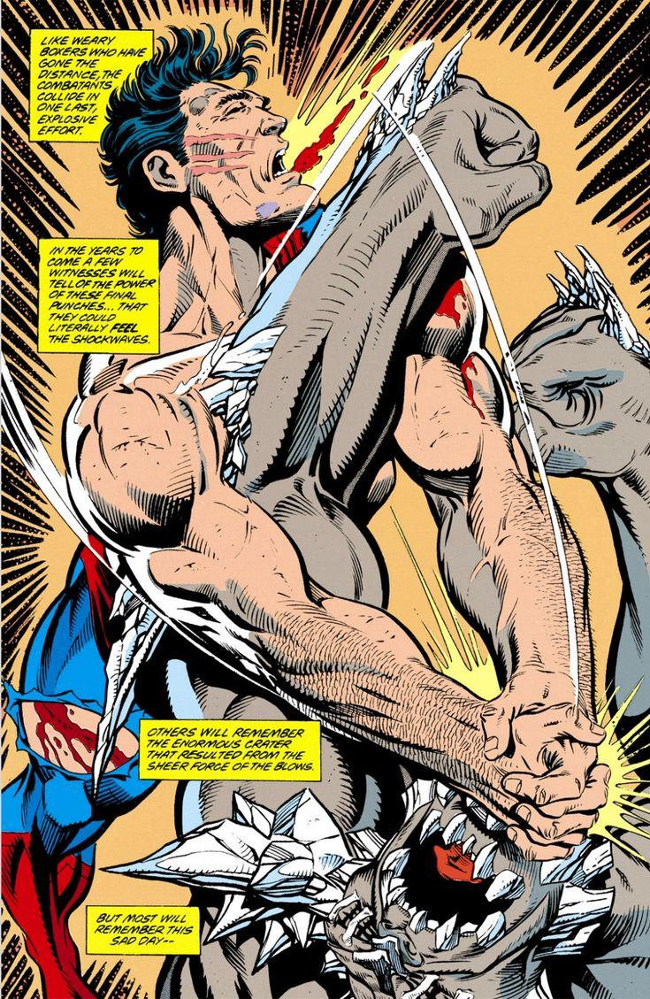 Superman Kills Doomsday (Superman vol. 2 #75, 1993)
