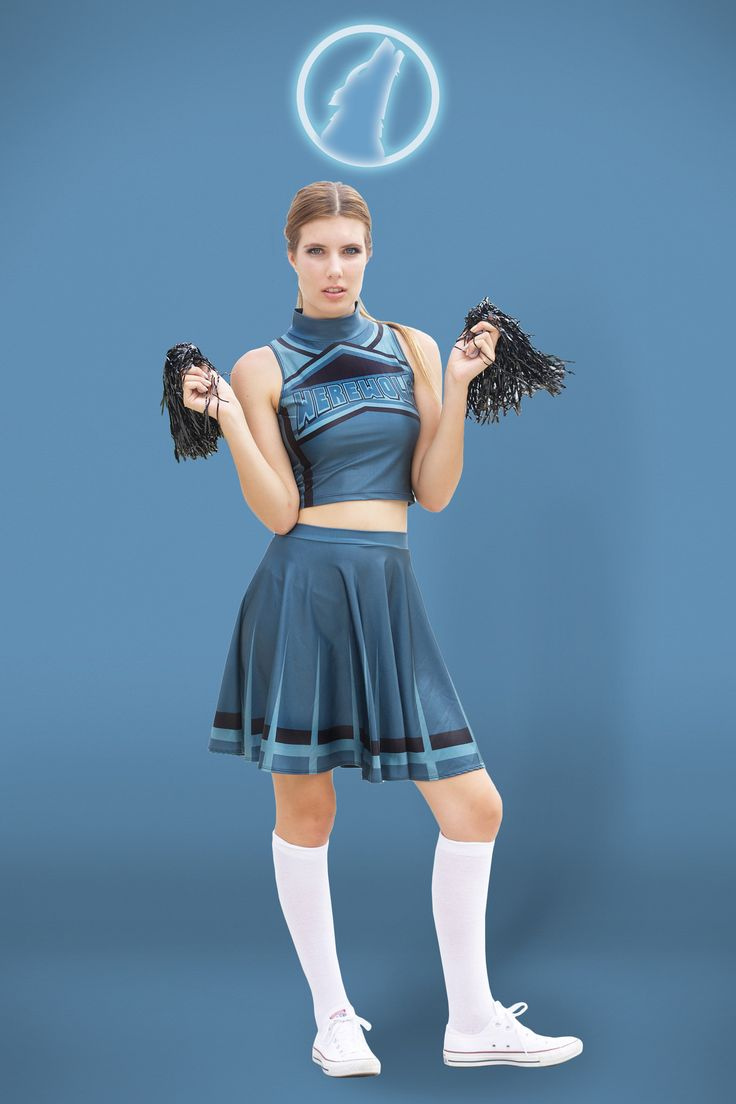 Do you shapeshift into a wolf every time you see a full moon? Well then I think this might be the Cheerleader Uniform for you!