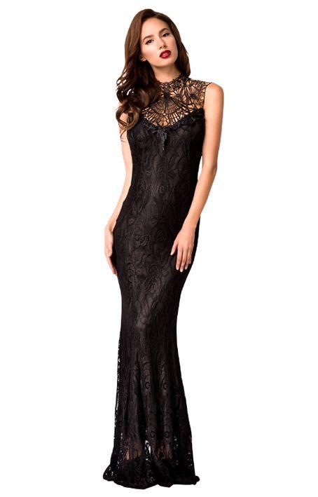 Schwarzes Abendkleid https://www.fancy-dresses.de/sexy-mode/cluboutfits/minikleider/schwarzes-abendkleid