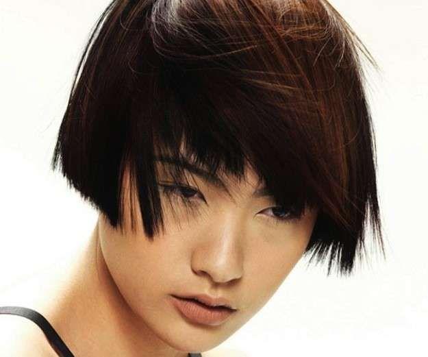 cortes de pelo bob escalados fotos de los peinados bob corto simetrico