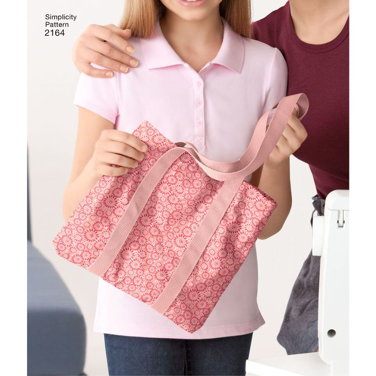 Learn-to-Sew assorted bags that are rated by skill level. Simplicity sewing pattern.