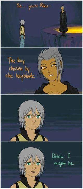 omg Riku.   Kingdom Hearts