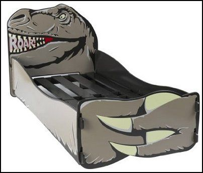 Dinosaur Single  bed for children