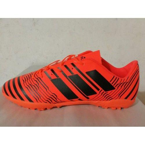 Chuteira Society Adidas - Chuteira Adidas Nemeziz 17.3 TF Laranja Preto Desconto
