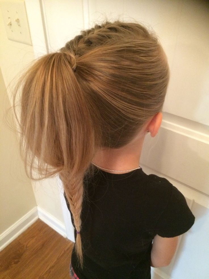 Fluffy fishtail Leahs hairstyles Pinterest Fishtail - French Braid Hairstyles
