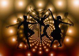 Balett, Táncosok, Nő, Sziluettek, Dance