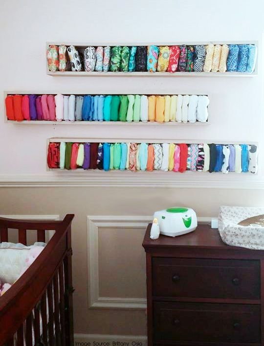 Brilliant custom cloth diaper storage
