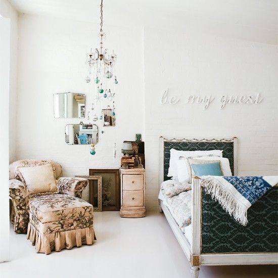 """Love the """"be my guest"""", I'd like one on living room of """"be our guest"""" - An Old Mattress Factory, Melbourne"""