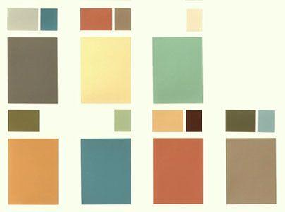 les couleurs des années 1930s