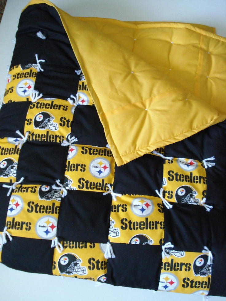 steelers quilt love it