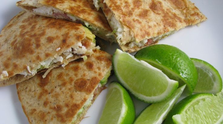 Crab Avocado Quesadillas | mexican recipes | Pinterest