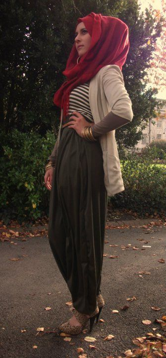 Dina Toki-O – More stunning hijab style