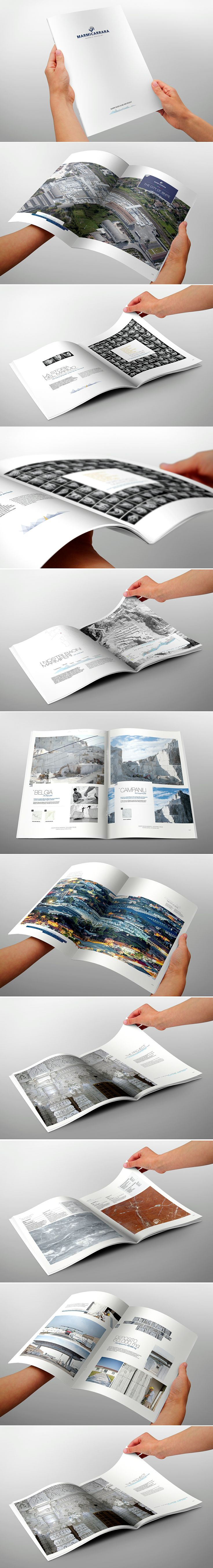 Brochure 32 pages marble company