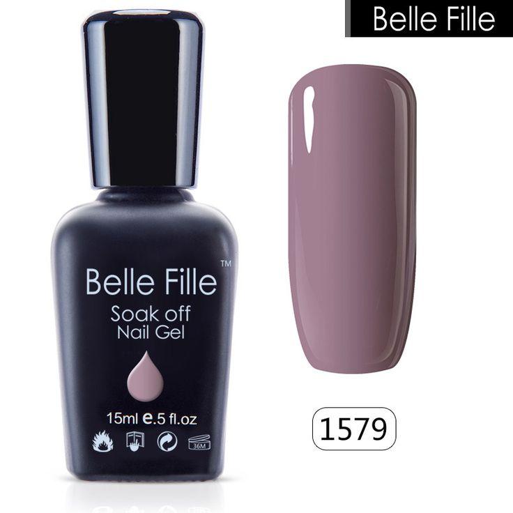 Belle Fille Glitter Unhas de Gel Polonês Que Bling Gel UV Rosa Roxo Gel Unha Polonês Céu Azul Série UV Soak Off Unha Doces polonês - Loja Loja