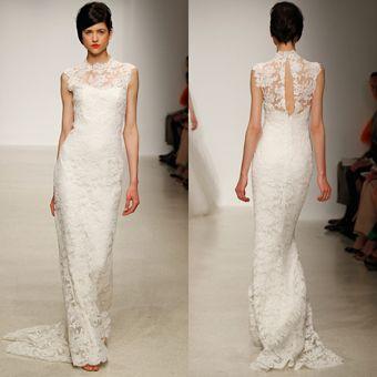 Brides Magazine: Spring 2013 Wedding Dress Trends-Amsale