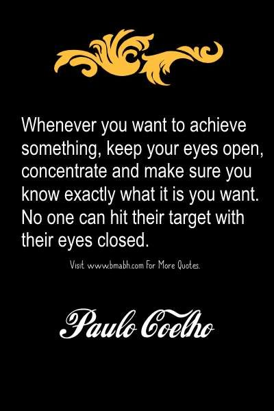 Focus Quotes – Quotes About Staying Focused