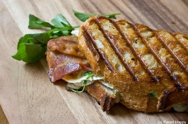 Green tomatoes, Paninis and Brie on Pinterest