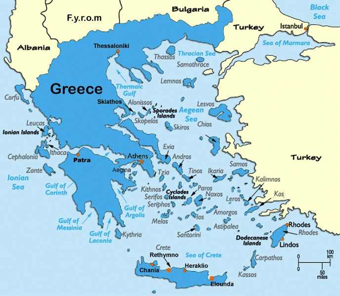 Great map of Greece and the islands  http://www.greek-islands.us/map-greece/