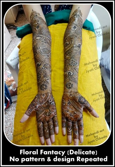 Jyoti Chheda Bridal Mehendi Artist Info & Review | Mehendi Artists in Mumbai | Wedmegood