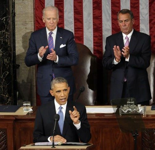 state of the union address 2015   ... Barack Obama delivering the 2015 State of the Union Address   CNS News