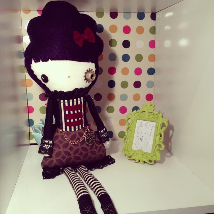 My steampunk doll!!