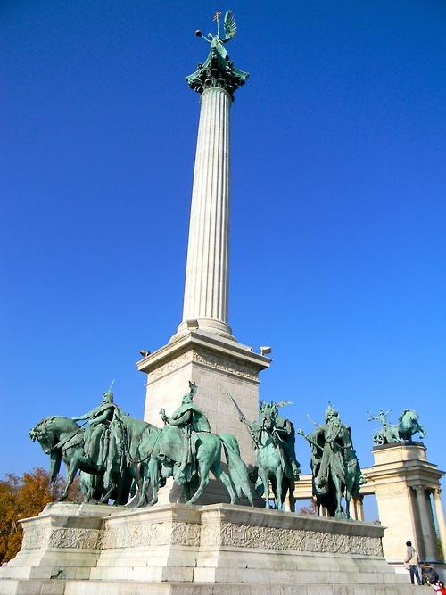 Heroes' Square, Budapest, Hungary, Europe