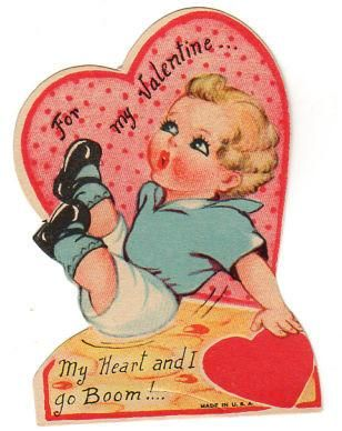 58 best Valentines Day images on Pinterest  Valentines Antiques