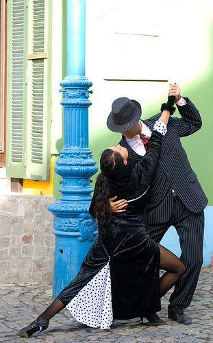 Street tango Buenos Aires http://www.argentinaexchange.com/