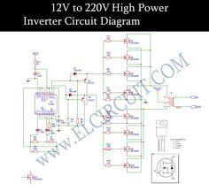 12V to 220V inverter DC to AC voltage inverter TL494