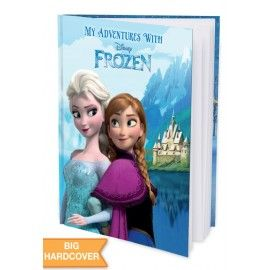 My Adventures with Disney Frozen - Hard Cover