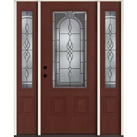 Reliabilt Hampton 3 4 Lite Decorative Glass Right Hand