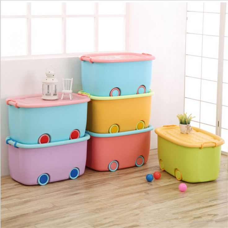 ==> [Free Shipping] Buy Best 1 Pc Multifunction Large Pulley Organizer Boxes Colorful Car Shape Storage boxes For Toys clothes Cabinet With Sealed Cover Online with LOWEST Price | 32764891899