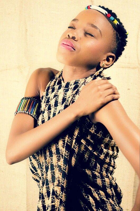 Tswana girl going Zulu □ Fashion photography/  fashion photo shoot.