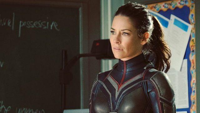Primera imagen de Evangeline Lilly como la Avispa en Ant-Man and The Wasp #cine