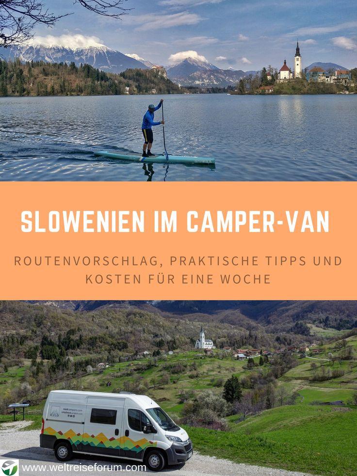 Slowenien Roadtrip im Camper