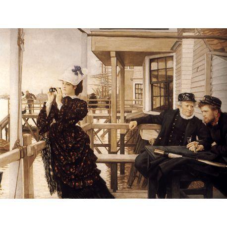 Reprodukcje obrazów James Tissot The Captain's Daughter - Fedkolor