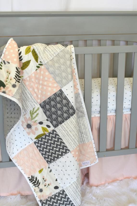This Is A Build Your Own Set You Can Get All Items In The Set Or Just The Quilt Pillow Etc This Stu Modern Baby Bedding Crib Bedding Girl Toddler Quilt