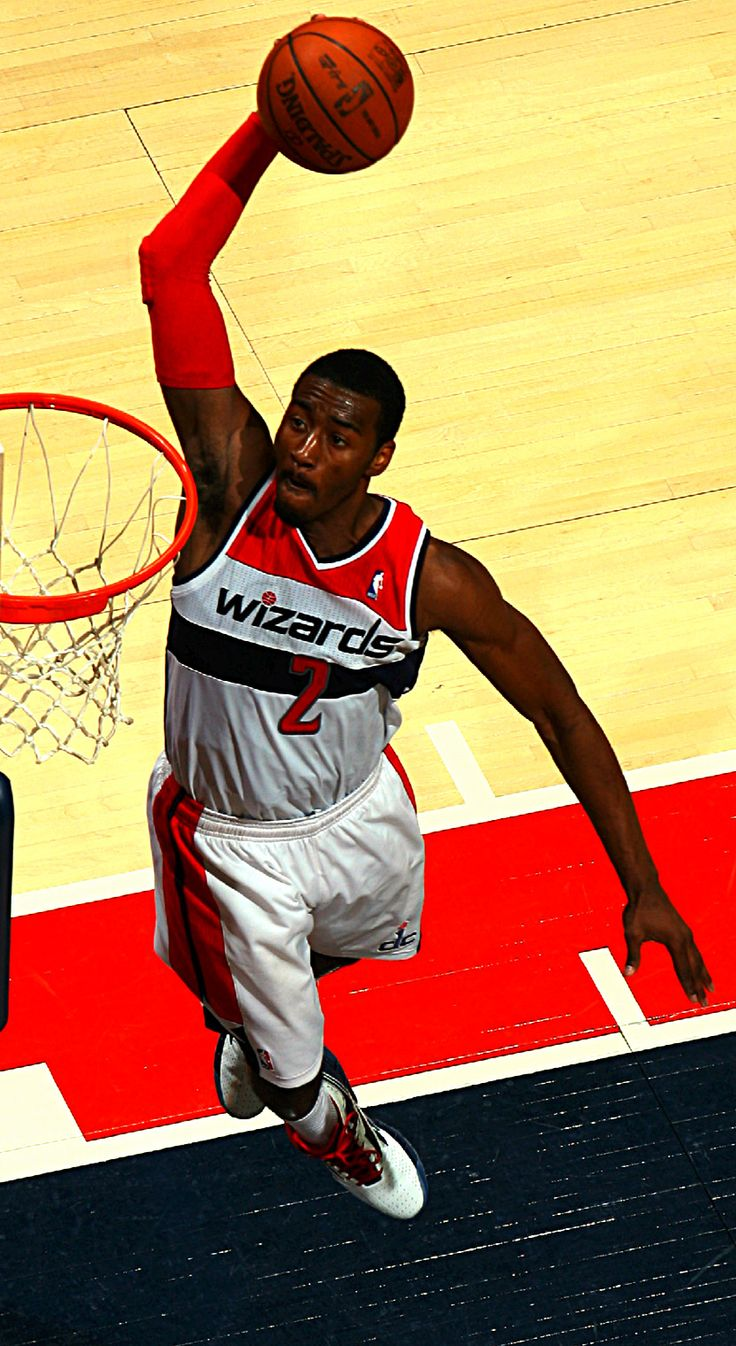 John Wall, point guard of the Washington Wizards, had an all star season last year and won the dunk contest that same year! Expect great plays from him for years to come!