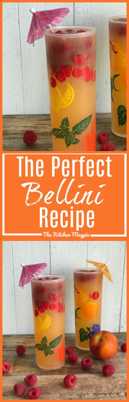 how to make the perfect bellini