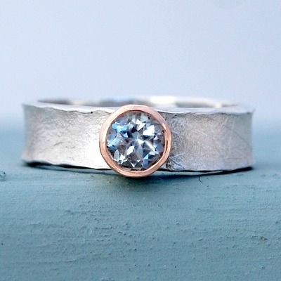 Handmade Unusual Engagement Ring Alisonmoorecouk
